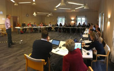 2nd Consortium meeting of the CHPM2030 project, Älvkarleby, Sweden, 13 October 2016.