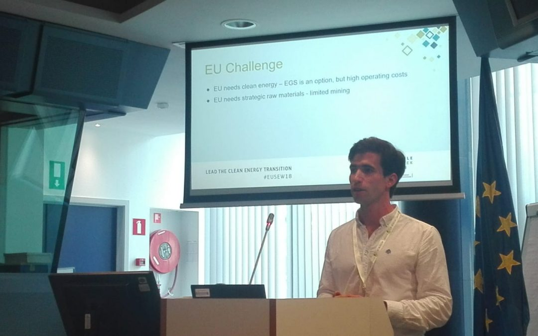 CHPM2030 at the EU's Sustainable Energy Week 2018