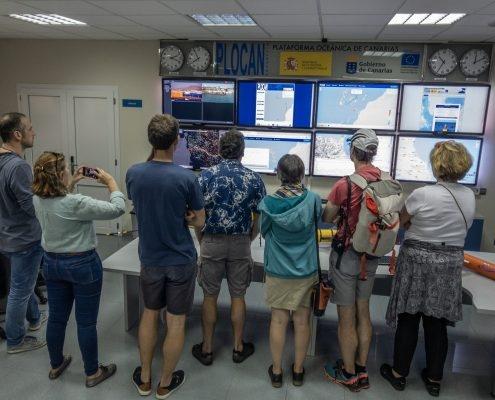 Plocan control room